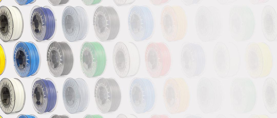 Mas de 60 tipos y colores de materiales de impresión 3d, PLA, ABS, PVA, Nylon, especiales, Metal, Cobre, Bronce, Latón, Acero, Hierro, Fibra de carbono y cada mes nuevos materiales..